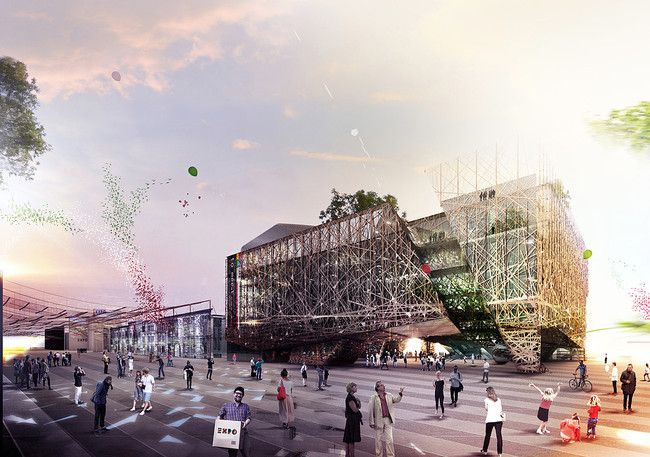 Request for Proposals: 2015 World Expo Pavilion