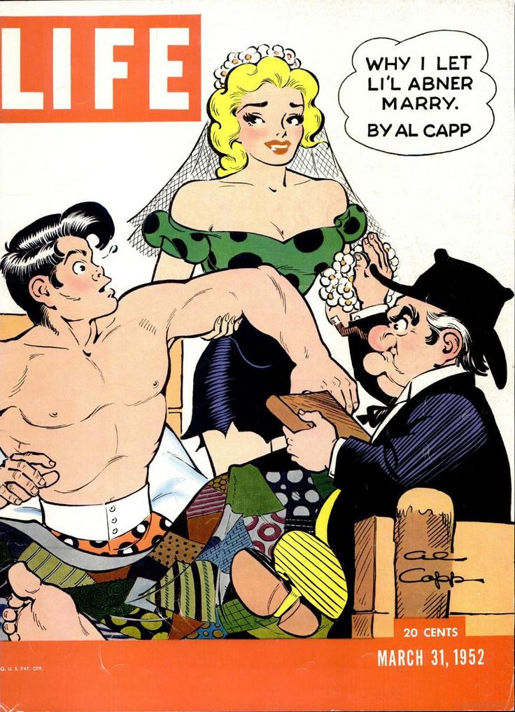 "Kleefeld on Comics: Al Capp's ""Why I Let Li'l Abner Marry"""
