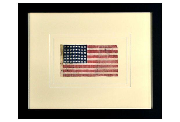 WWII Era 48-Star       Flag on OneKingsLane.com