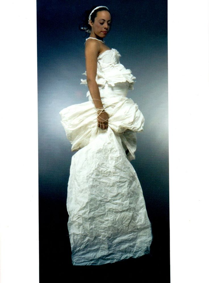 The Paper Dress For Pregnant