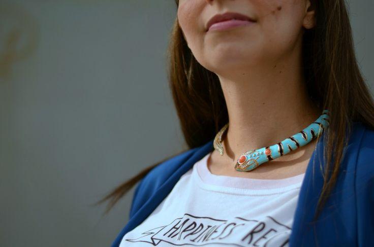 the AdR x H&M #necklace prettynyummy.com