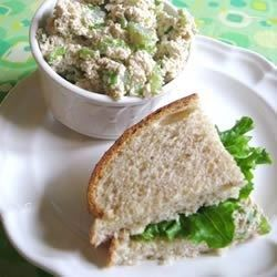 This is a favorite vegetarian sandwich spread made with tofu. Makes a great sandwich filling or you can eat it with crackers.