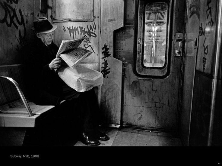 """federer7: """" """"Subway NYC 1986″ © Richard Sandler, courtesy powerHouse Books """""""