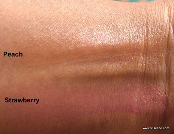 Lakme Lip Love Lip Care Tinted Lip Balm Peach And Strawberry