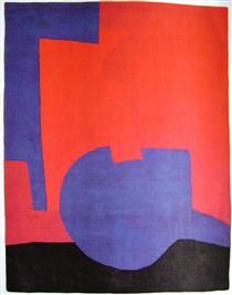 Composition rouge - Serge Poliakoff