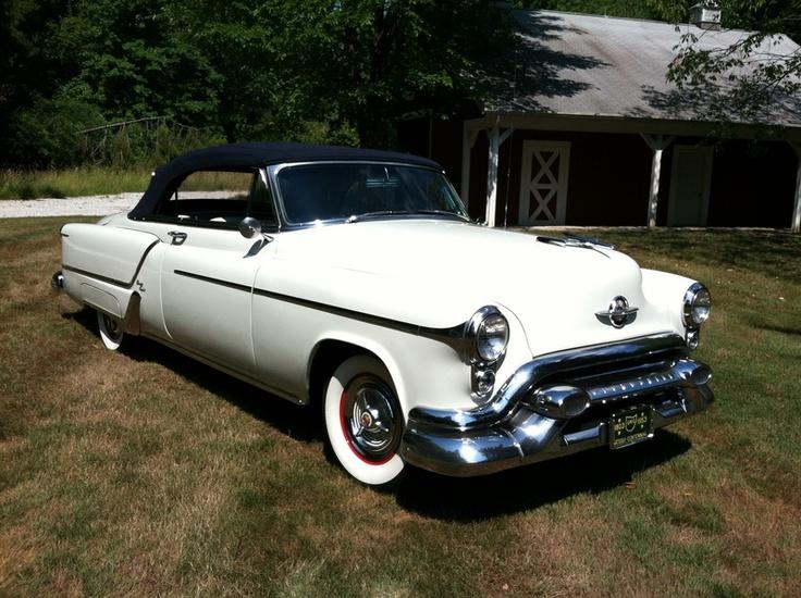Antique Vintage Cars >> 1953 Oldsmobile | Oldsmobile | Pinterest