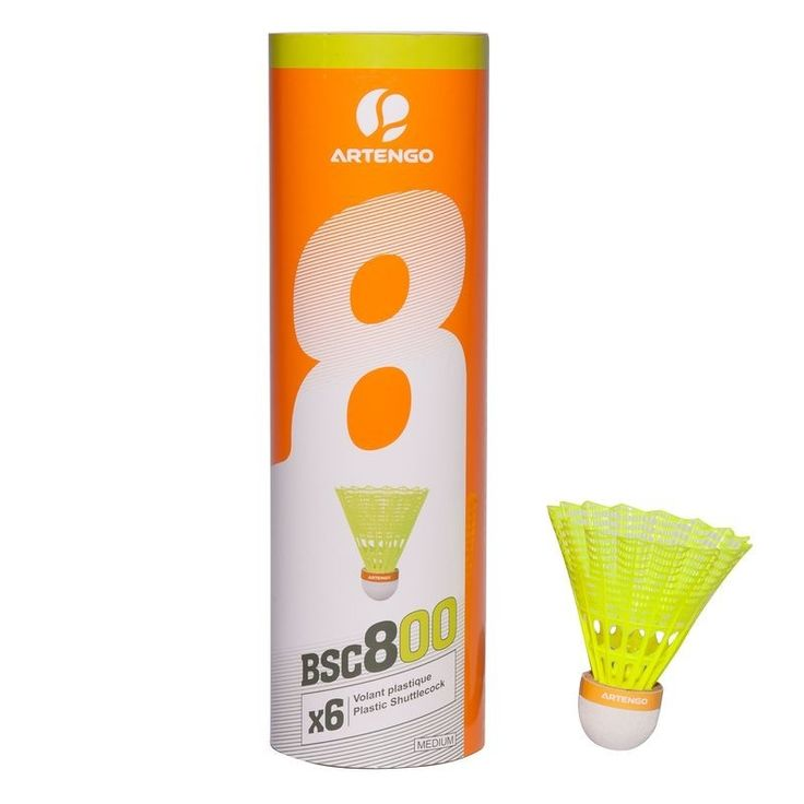 Check out our New Product  BSC800 Badminton shuttlecocks 6in a pack in Yellow COD Regular badminton players looking for a durable and comfortable shuttlecock.The plastic skirt lets you achieve stable trajectories and the cork tip provides comfort  ₹549