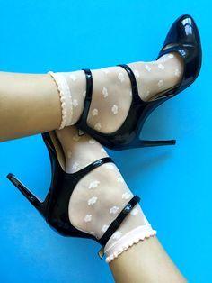 Ankle socks & Heels...
