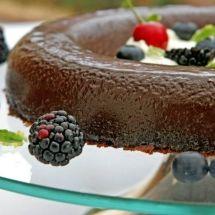 Pudim de <span>chocolate</span> da Rainha Elizabeth