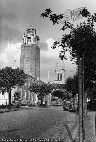 Beckenham, Town Hall 1954