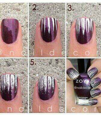 Easy, fast way to make your nails ready for party night!!