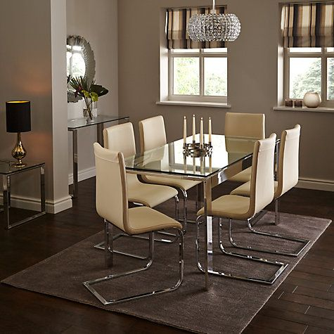 Buy John Lewis Frost 6 Seater Dining Table Online At Johnlewis