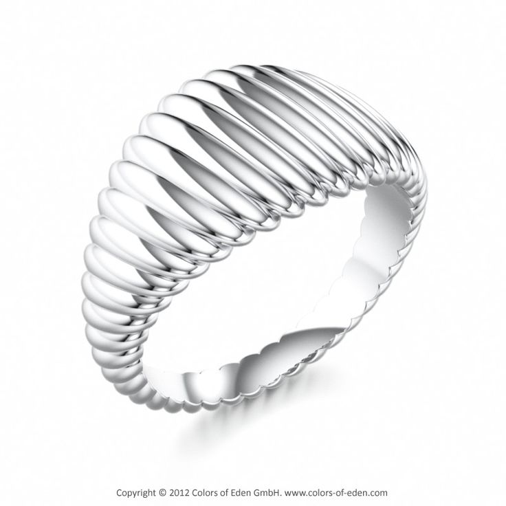 Platinum Mens Ring PHENOMENON