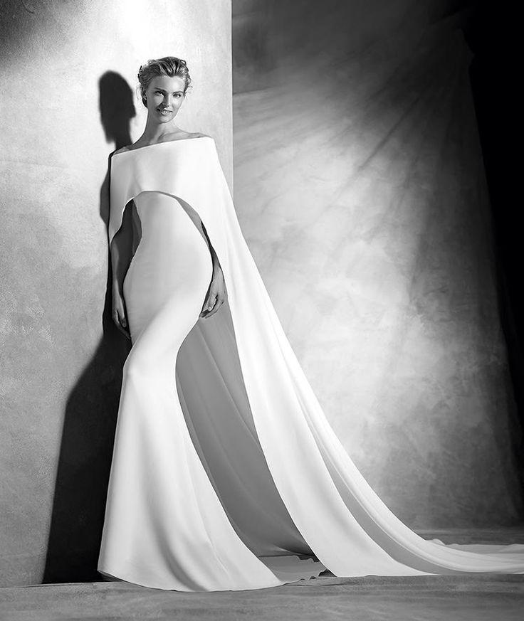 Verona, originelles Brautkleid, herzförmiges Dekolleté, eleganter Stil