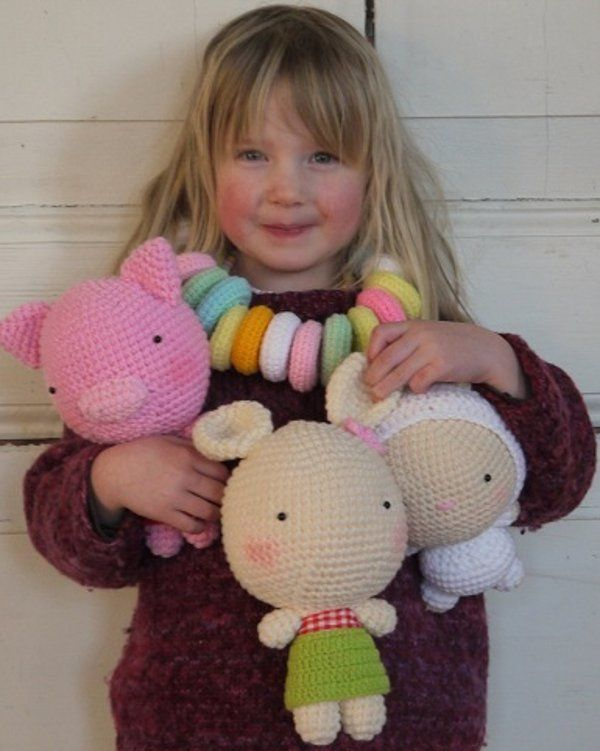 babyology: crochet toys & candynecklace from 2 cute!