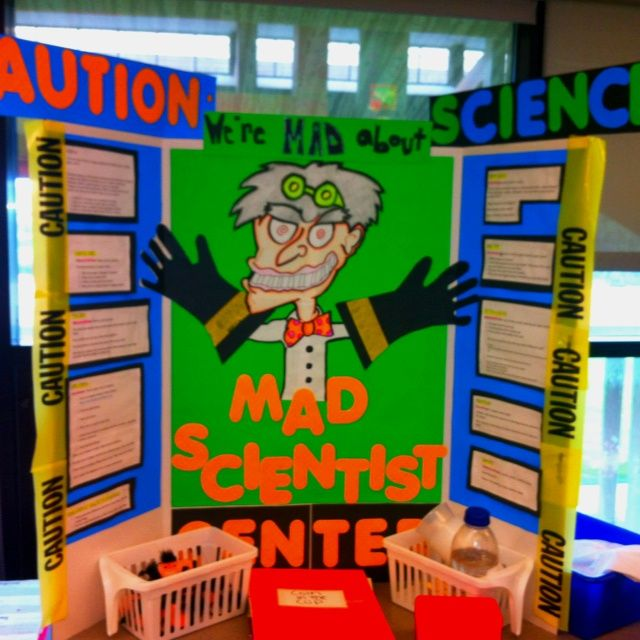 4th Grade Classroom Themes | Science center theme I created for 4th grade | Classroom