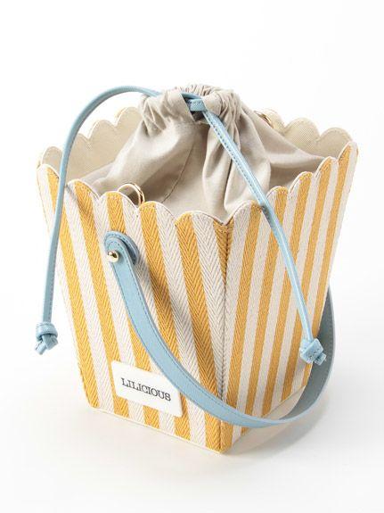 lilLilly(リルリリー)通販  LILICIOUS ポップコーンバッグ