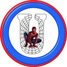 Alfabeto de Spiderman. | Oh my Alfabetos!