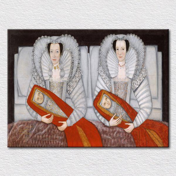 Оптовая продажа искусства каталог к декор-ваш-жизнь стены, Качество исполнитель близнецы изображение напечатанное на холсте бесплатная доставка