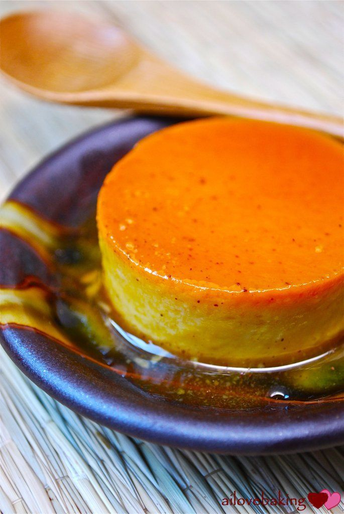 Pumpkin Leche Flan
