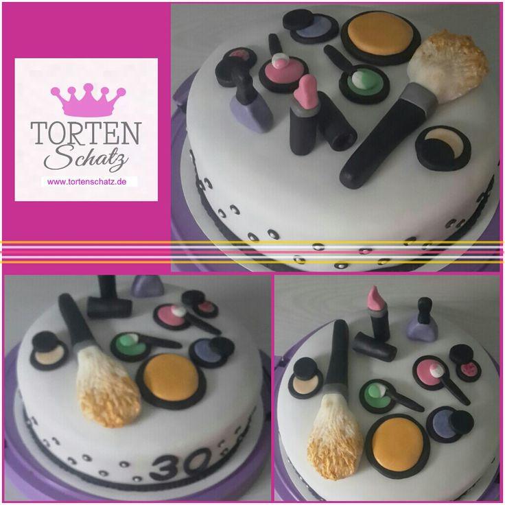 Make up cake by www.tortenschatz.de