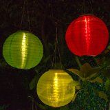 Replace Your Battery Operated Paper Lanterns With Solar Nylon Lanterns To  Light Up Your Patio Umbrella
