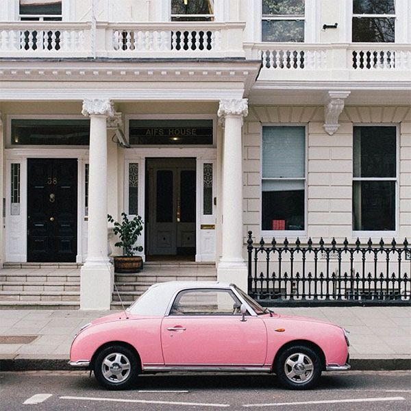 love the car  {iphone photography | instagram round-up : grey skies & perfect pastels} by {this is glamorous}, via Flickr