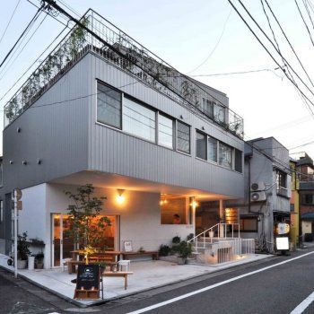 A Tokyo Apartment With a Built-In Cafeteria