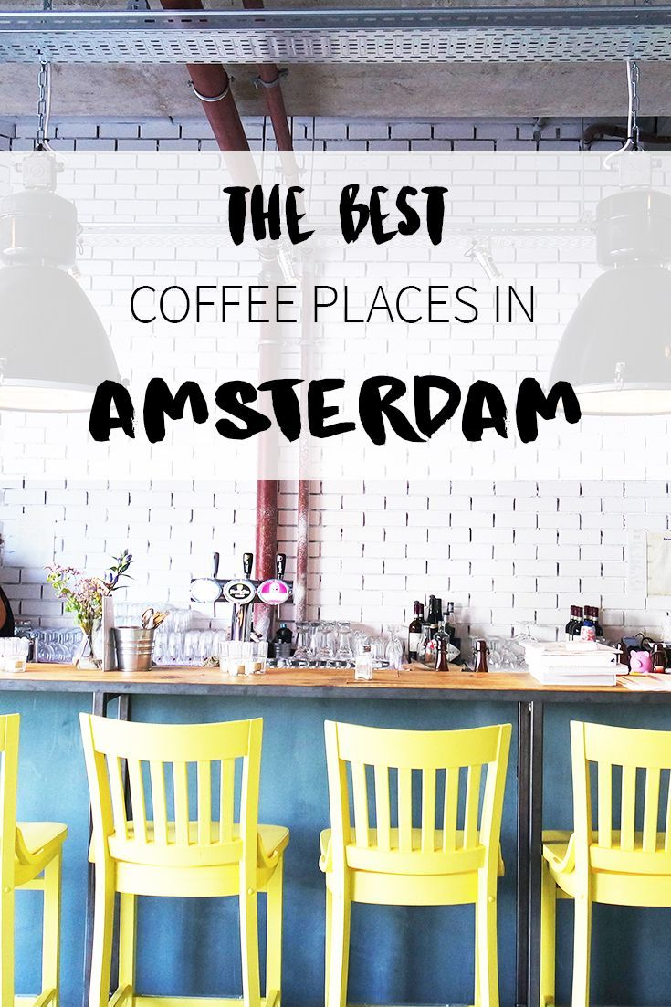"""Coffee time in Amsterdam! But where to go? See the list on travel blog http://www.yourlittleblackbook.me with tips for the best hotspots, cafes and restaurants that serve great coffee! Planning a trip to Amsterdam? Check http://www.yourlittleblackbook.me/ & download """"The Amsterdam City Guide app"""" for Android & iOs with over 550 hotspots: https://itunes.apple.com/us/app/amsterdam-cityguide-yourlbb/id1066913884?mt=8 or https://play.google.com/store/apps/details?id=com.app.r3914JB"""