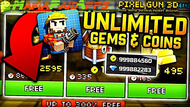 download game pixel gun 3d mod apk versi terbaru