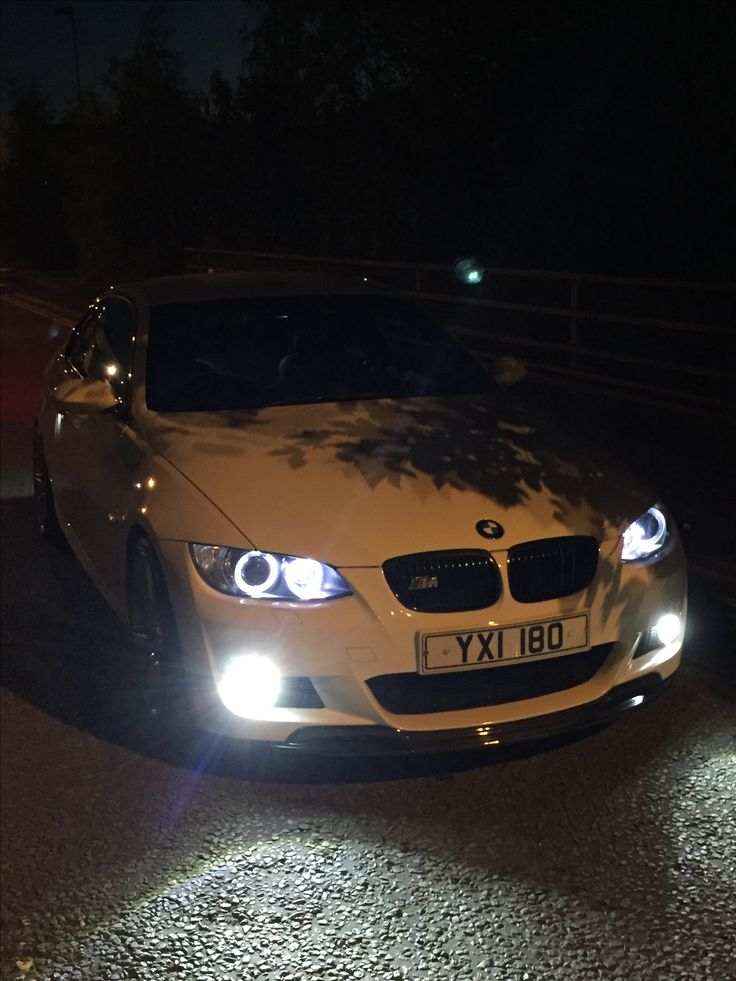 335i Canbus  LED Angel Eyes And Front Fog Lights