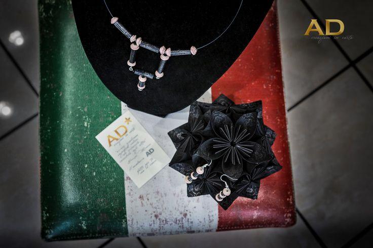 Tra le nuove creazioni di AD ora abbiamo gli AD bijoux in carta, simpatiche e colorattisime creazioni in carta