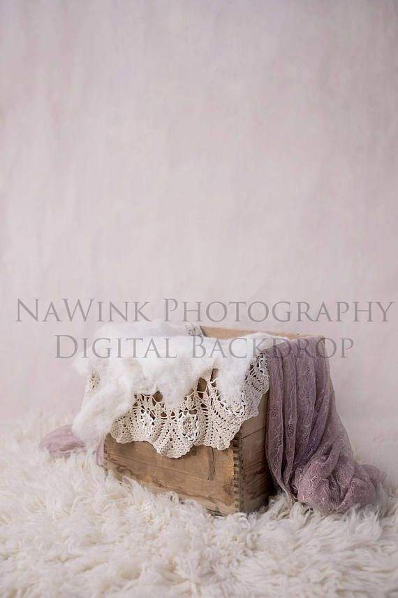 Newborn Digital Backdrop Shabby Chic Vintage Baby Girl Purple