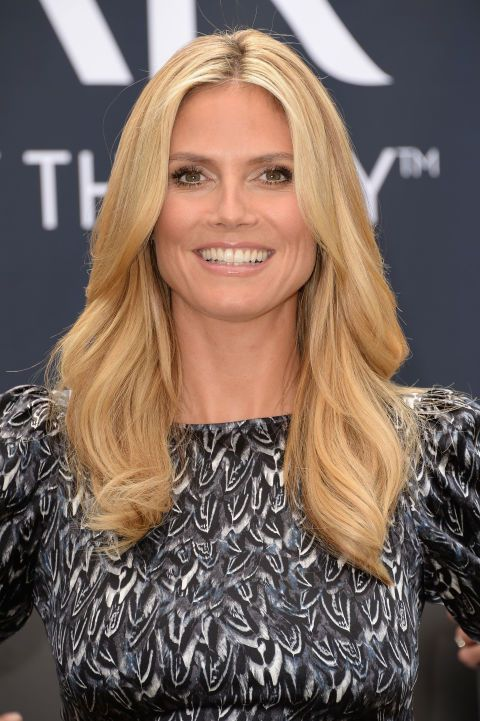 The 44-year-old host of America's Got Talent rocks a middle part and loose, voluminous waves.  RELATED: 106 of the Biggest, Boldest Celebrity Hair Transformations