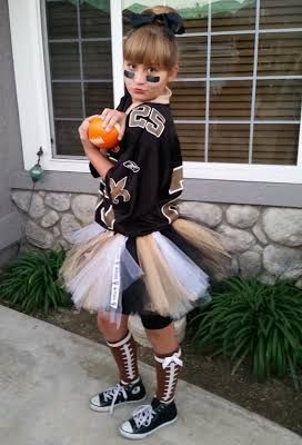 NFL New Orleans Saints Child or Adult Tutu Must have football leg warmers!!