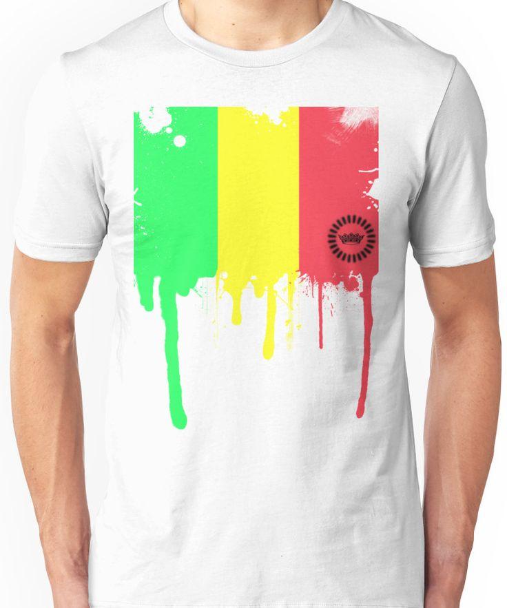 Jamaican Color Melt Unisex T-Shirt
