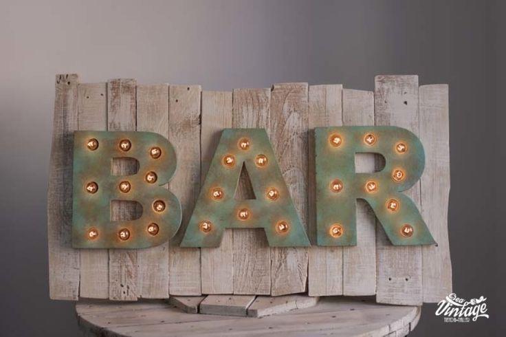 letrero para bares,carteles luminosos,decoración industrial,decoración de locales comerciales