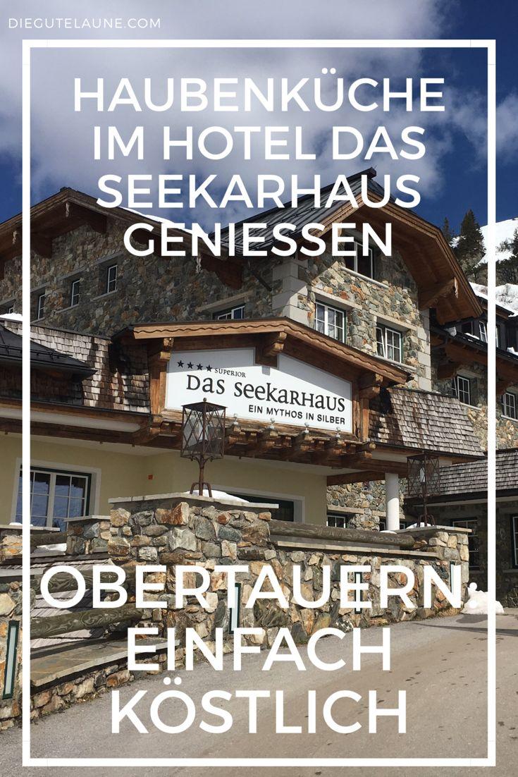 """Das Hotel """"Das Seekarhaus"""" in Obertauern gilt als Gourmet-Treff der Alpen. Hier lässt man sich gerne jeden Tag aufs Neue von haubengekrönter, kulinarischer Sinnlichkeit überraschen."""