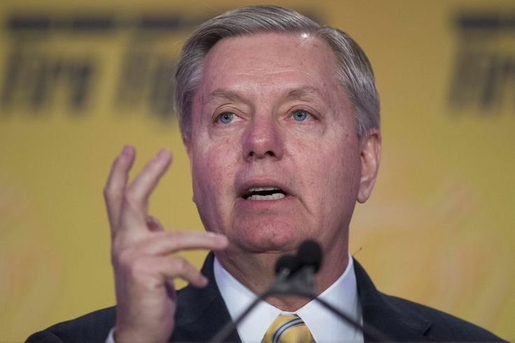 Lindsey Graham: as president I would deploy the military against Congress - If taken literally, Graham is basically announcing his plan to stage a coup: he is saying that if he gains control of the executive branch, he will use his authority as commander in chief to overcome the separation of powers and force the legislative branch to do his bidding, instead of allowing it to act as an independent branch of the government.