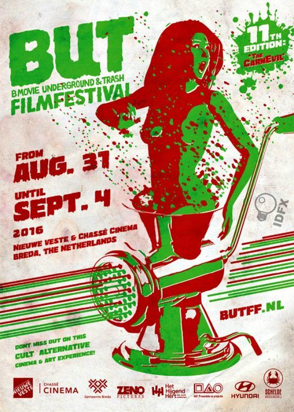 BUT b-movie and underground film festival in Breda