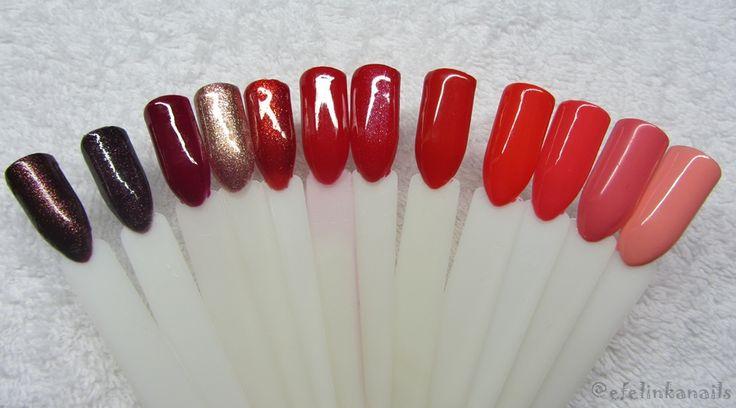 baseveheinails: Moja kolekcja hybryd - Semilac, Madam Glam, Neonail
