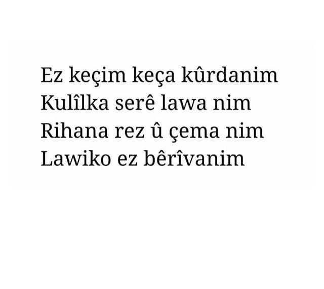 Kurdish song quotes