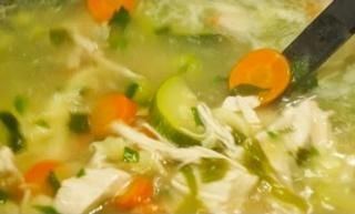 Recipe for Chicken Vegetable Soup - Ideal Protein Friendly