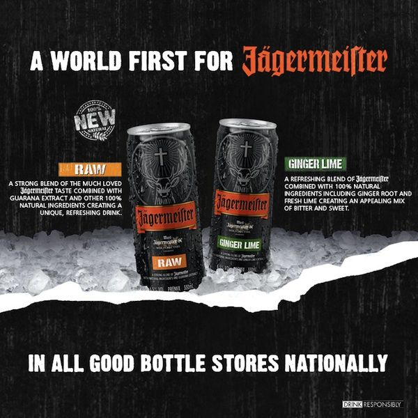 JAGERMEISTER LAUNCHES WORLD FIRST RTD