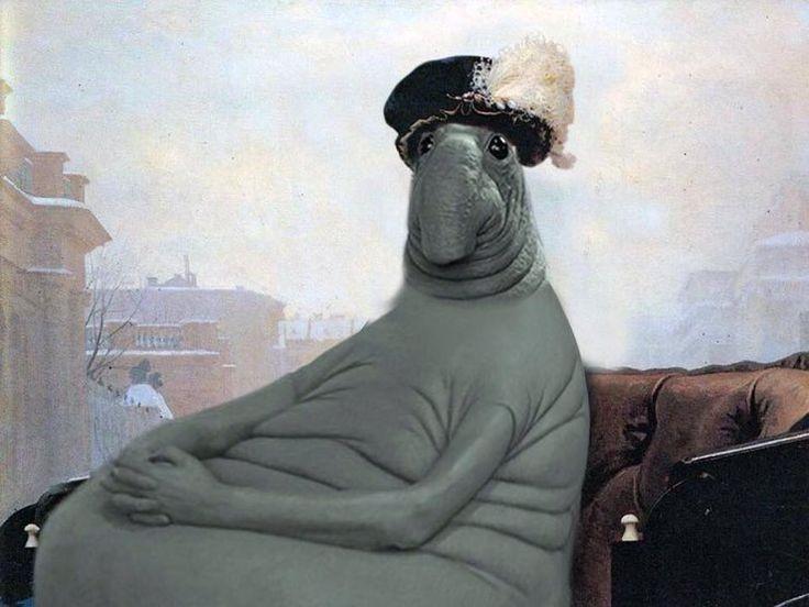 Больше недели рунет охвачен нашествием нового мема. Его настоящее имя - Homunculus Loxodontus, гибрид насекомого и слона. На самом деле, Ждун - это мягкая скульптура, которая сидит на скамейке перед детской больницей, скрашивая время ожидания маленьких пациентов.