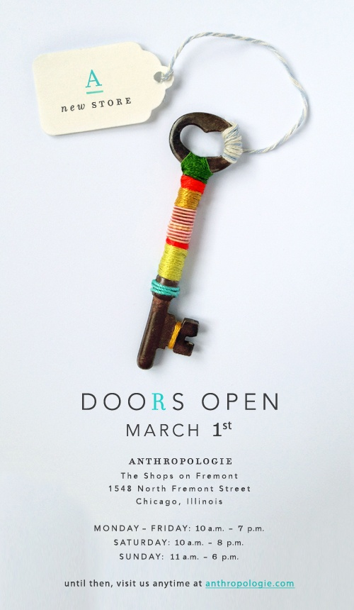 Anthropologie Lincoln Park store opening :: Effortless Anthropologie