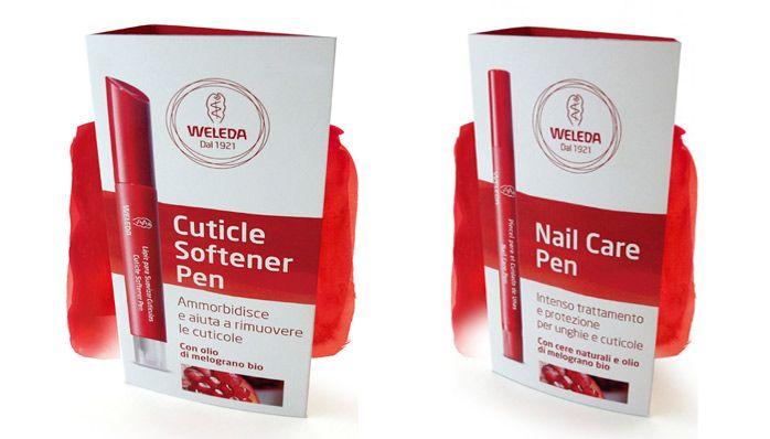 Naturetica | Nuovi prodotti Weleda per la manicure