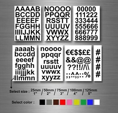 Lot Sticker Number Number Letter Alphabet Color And Size At Choxi Fashion Home Garden Homedcor Decalsstic Vinyl Lettering Lettering Alphabet Letter Decals