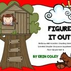 McGraw-Hill Wonders Leveled Reader Response Unit 5: Figure It Out (1st Grade) - These leveled reader response sheets are a fun and interactive way for your students to respond to their leveled readers during guided reading. The...