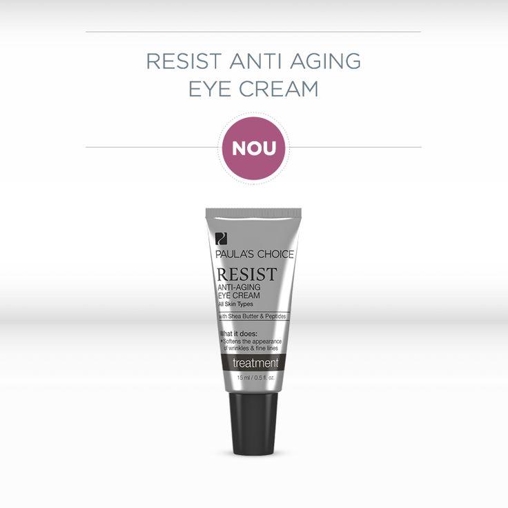 Urează-i bun venit primei creme Paula's Choice pentru zona ochilor! Resist Anti-Aging Eye Cream